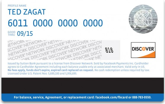 Facebook-Card