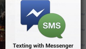 Facebook Messenger SMS