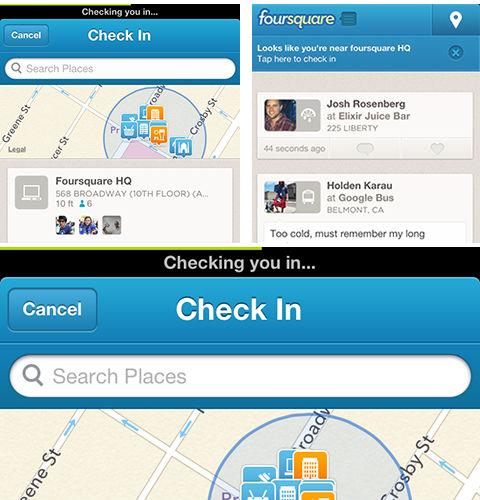 Foursquare-faster-check-in