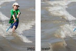 Facebook jpeg vs webp