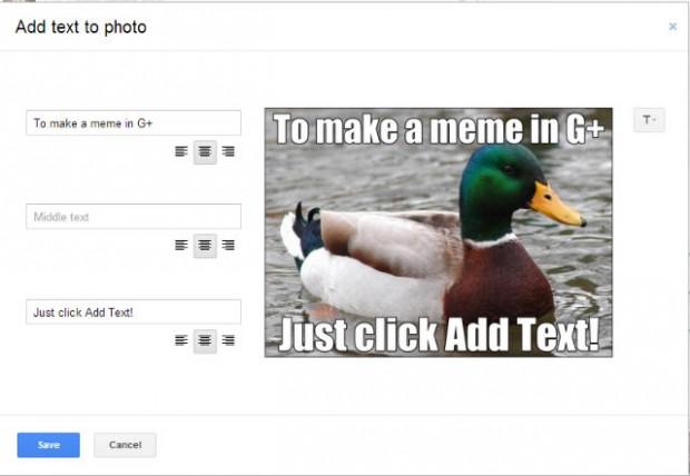 Google+ meme