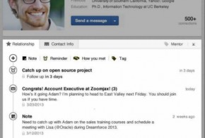 LinkedIn new contacts
