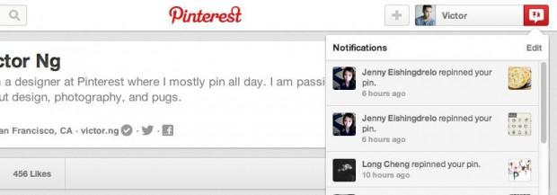 Pinterest improvements