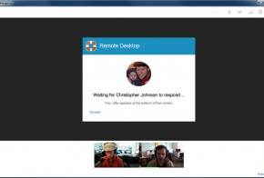 Google Plus Hangouts Remote Desktop
