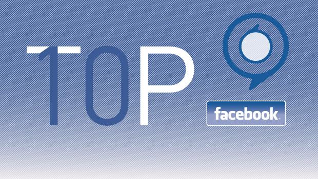 top 10 facebook