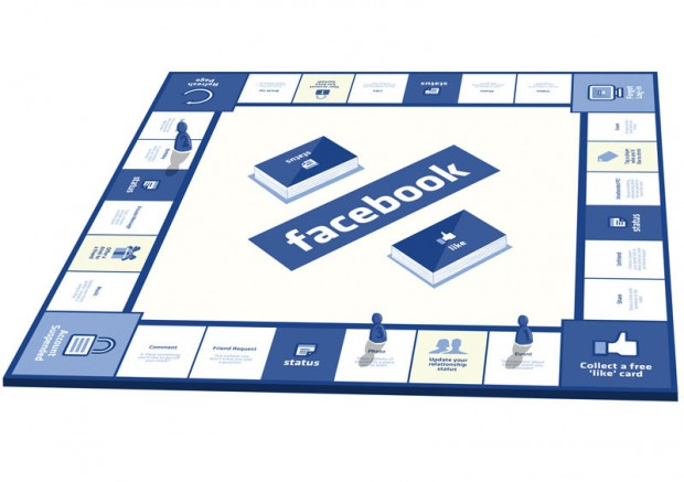 facebook the board game