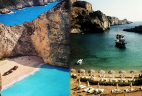 instagram greece best beaches
