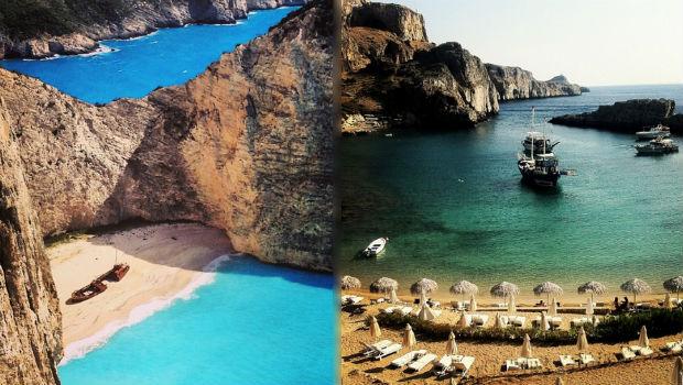 instagram greece best beaches