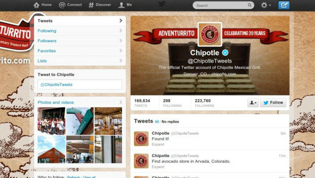 twitter Chipotle hack