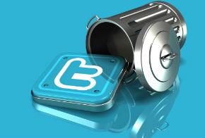 twitter delete account