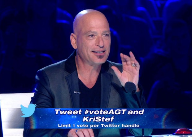 twitter vote for Americas Got Talent show
