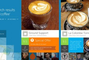Foursquare official Windows 8 app