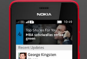 LinkedIn nokia asha official app