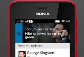 LinkedIn nokia asha official app