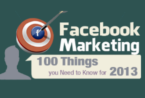 facebook marketing - 100 things you need to know for 2013 feat