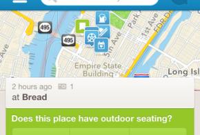 foursquare check-in details