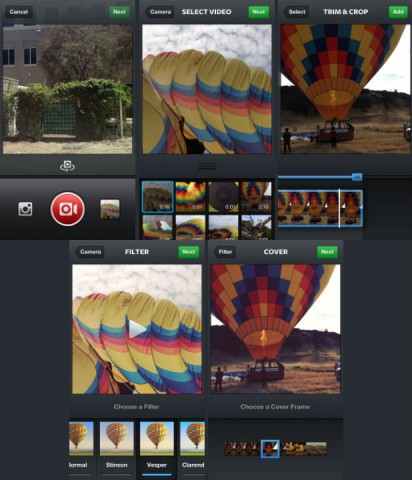 instagram Import Video from Library
