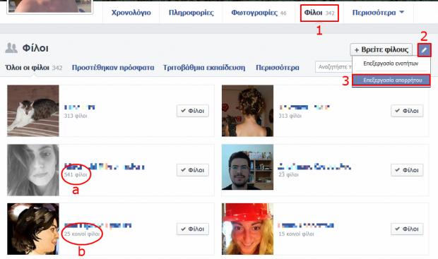 facebook asfaleia kleidoma filon