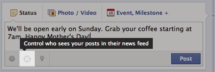 facebook target 2