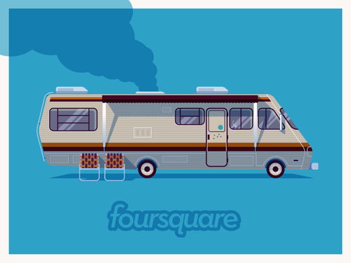 foursquare and breaking bad real places