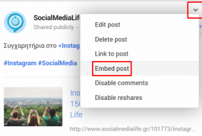 google plus embedded posts feat