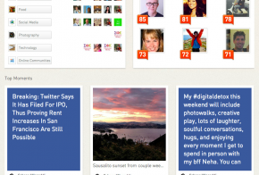 new klout profile
