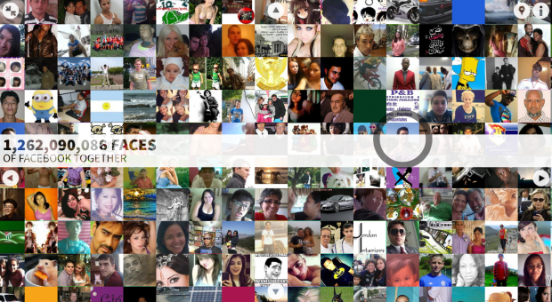 the faces of facebook