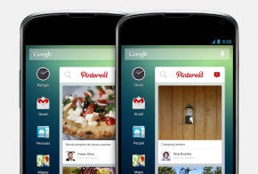 Pinterest widget for Android