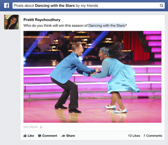 facebook graph search updated