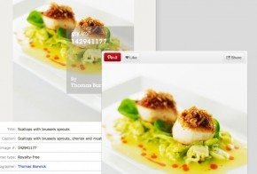 pinterest collaboration with getty images