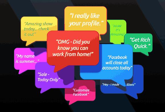 social media spam