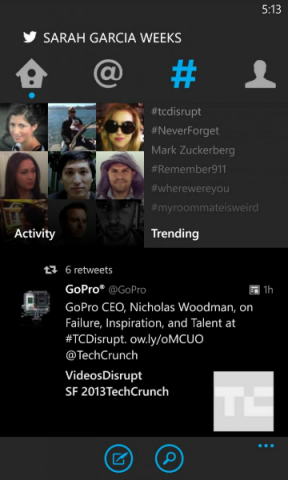 twitter for windows phone update2