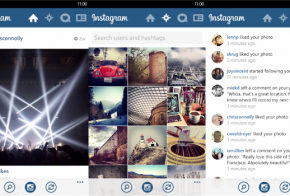 Instagram for Windows Phone 8 feat