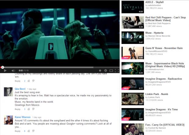 YouTube video pinner