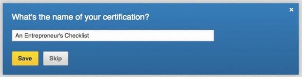 linkedin profile certification