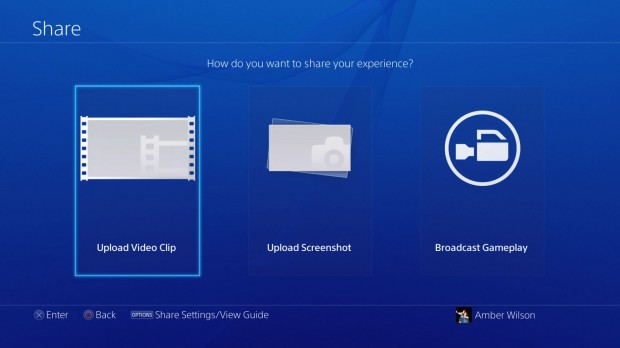 ps4 and facebook integration