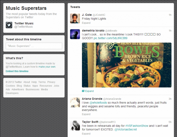 twitter custom timelines via tweetdeck