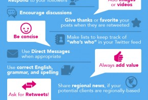 twitter dos and donts infographic