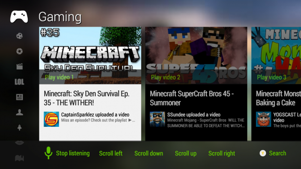 youtube for xbox one