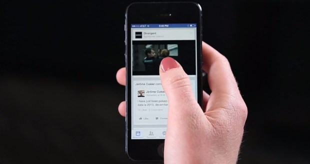 facebook auto play video ads