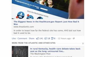 facebook similar links