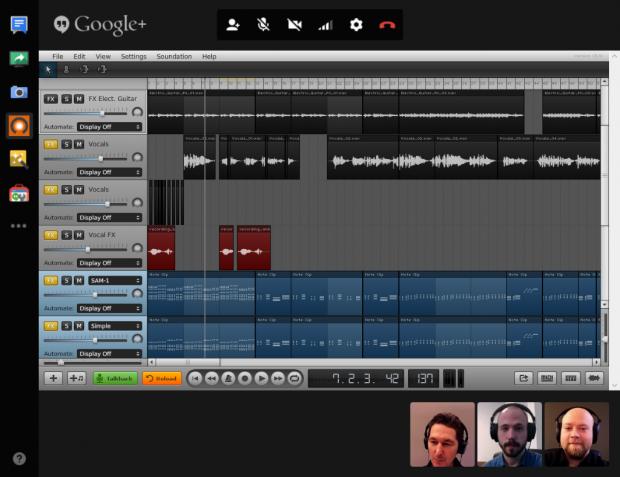 google+ soundation