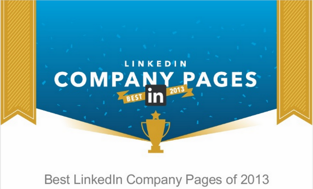 linkedin best company pages 2013