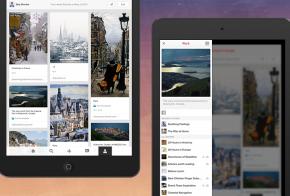 pinterest iPad app for iOS 7