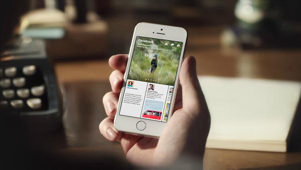 facebook paper news reader app