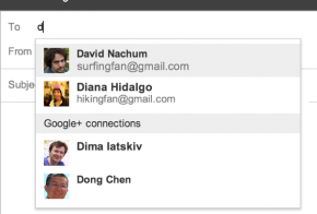 google+ email to gmail