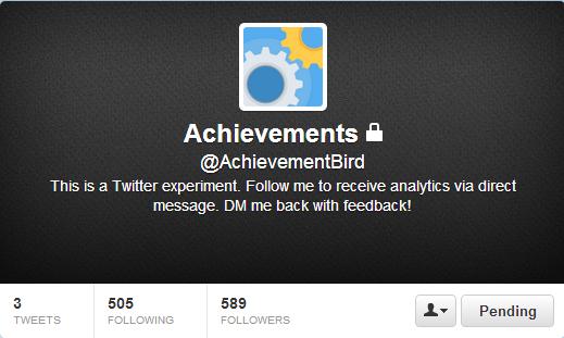 twitter achievementbird