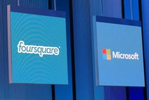 Foursquare Microsoft partnership