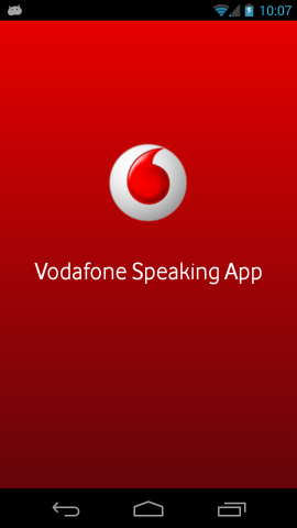 Vodafone Speaking App for android