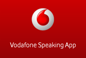 Vodafone Speaking App for android feat